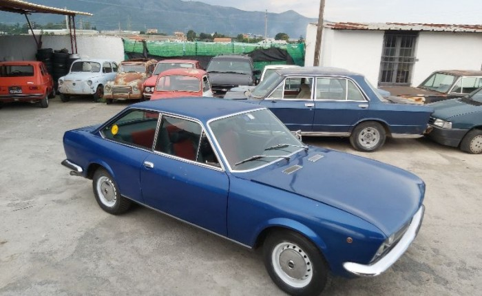 FIAT 124 COUPE'